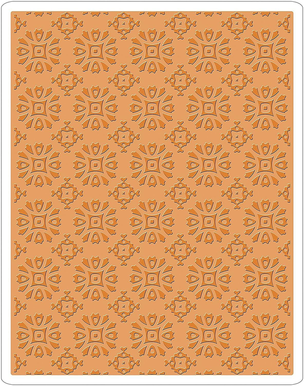 Sizzix 662391 Rosettes - Texture Fades Embossing Folder B074P83FXV
