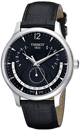 Tissot Analog Black Dial Men's Watch - T063.637.16.057.00 Men's Watches at amazon