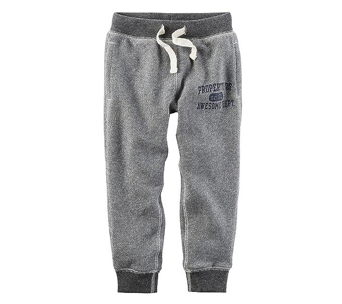 3d28082ca91f Amazon.com  Carter s Boys  2T-8 Knit Jogger Pants  Clothing
