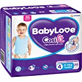 BabyLove Cosifit Toddler Nappies 9-14kg (20 pack x 4)