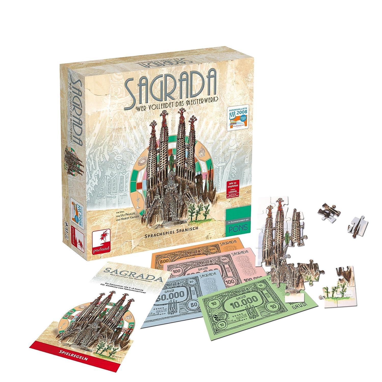 Parland Spiele Huch & Friends 1001 Sagrada - Juego de Mesa ...