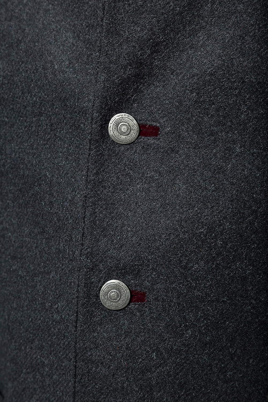 Samt-Details Wolloptik JP 1880 Herren gro/ße Gr/ö/ßen bis 70 gepr/ägte Metallic-Kn/öpfe 716983 Karofutter Trachtenjanker