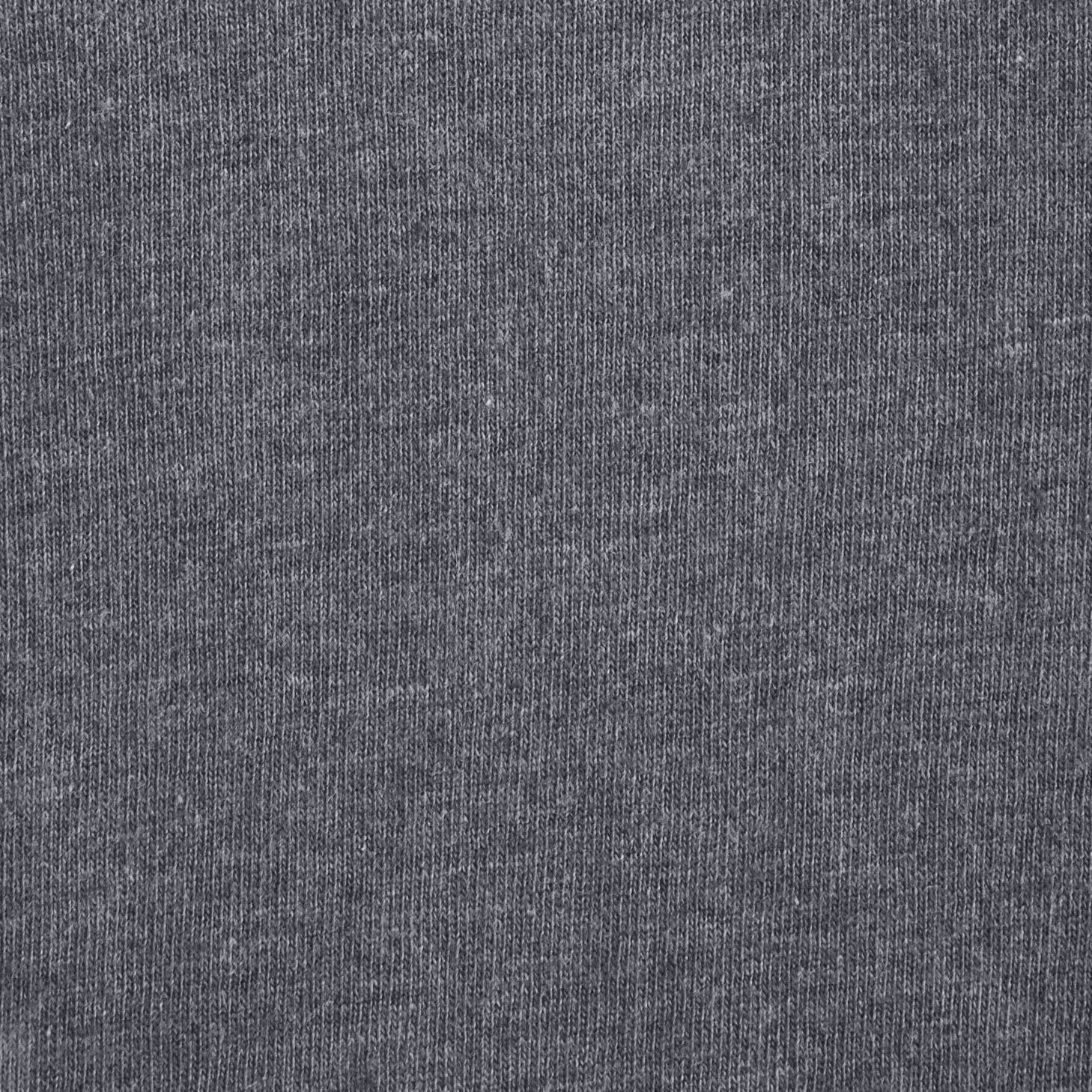 Basics Heather Cotton Jersey Bed Sheet Set Light Grey Full