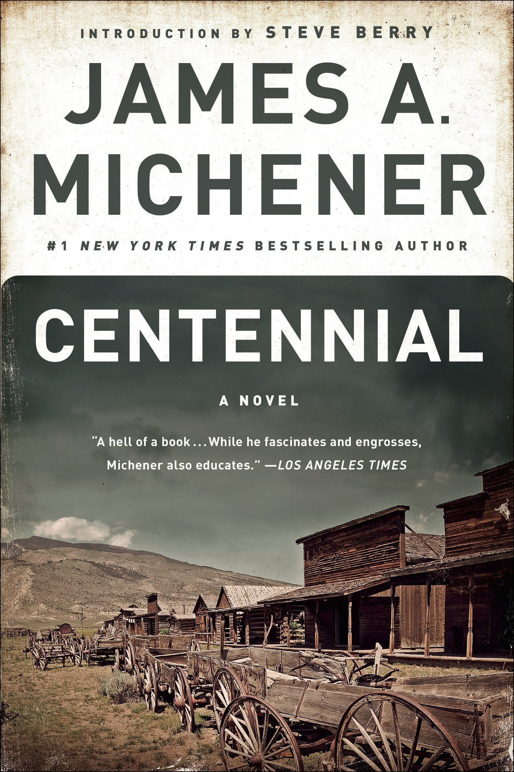 Image result for book cover centennial michener