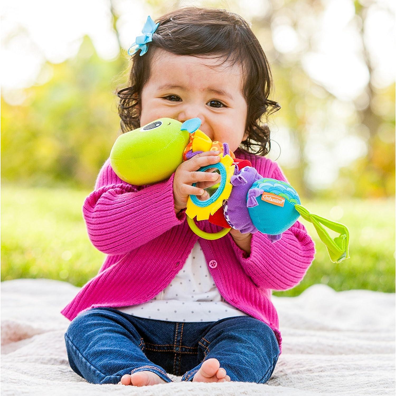 Amazon Infantino Hug and Tug Musical Bug Baby