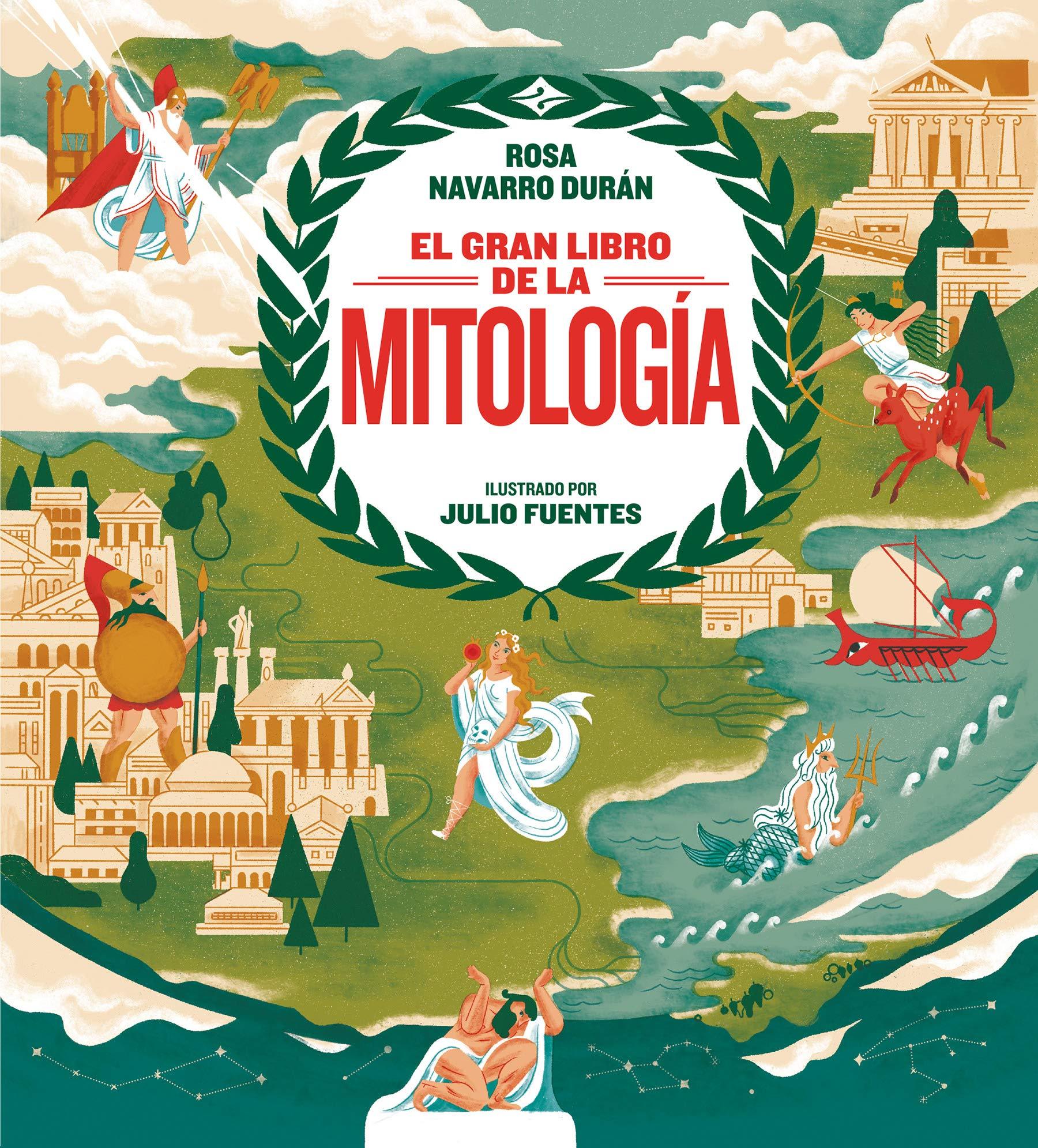 El gran libro de la mitología (Libros ilustrados): Amazon.es: Navarro, Rosa: Libros