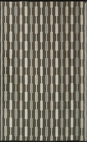 Mad Mats Zipper Indoor Outdoor Floor Mat, 6 by 9-Feet, Silver