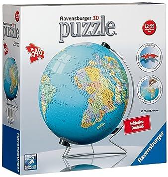 Puzzles & Geduldspiele Nachtlicht Ravensburger Puzzle Globus 3D mit Minions