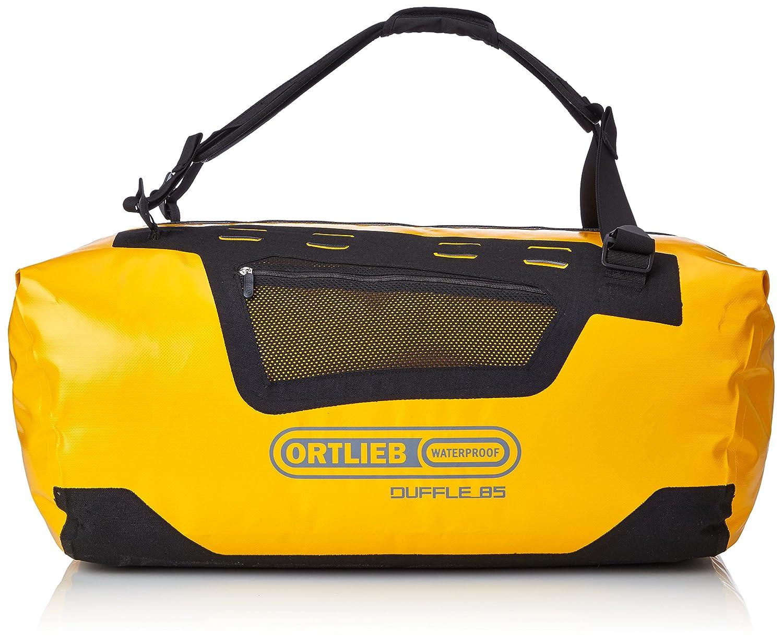 Ortlieb Unisex Duffel Bag Sun Yellow Black   85L