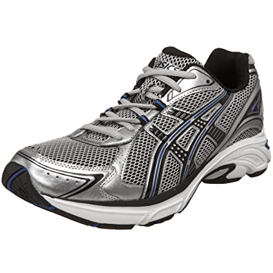 c55a4b70862 Amazon.com | ASICS Men's Kanbarra, Silver/Black/Royal | Road Running
