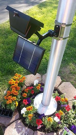 Commercial Solar Flagpole Light & Amazon.com : Commercial Solar Flagpole Light : Outdoor Lighting ... azcodes.com
