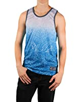 MO7 Men's Tropical Foilage Tank Top