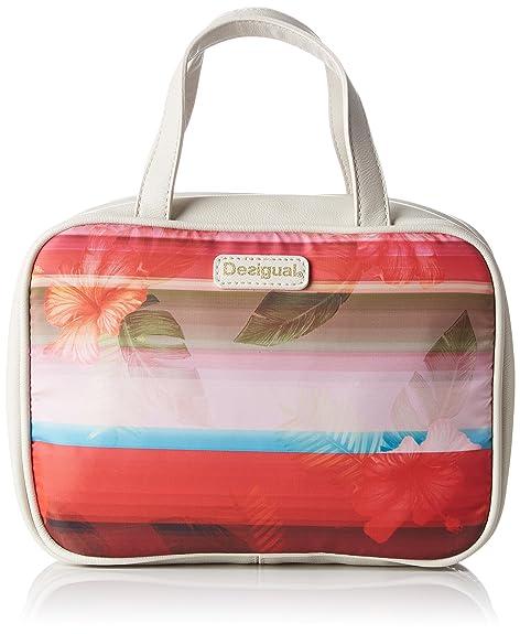 Desigual Pouch_Travel Polynesia, Monedero para Mujer, Rojo ...