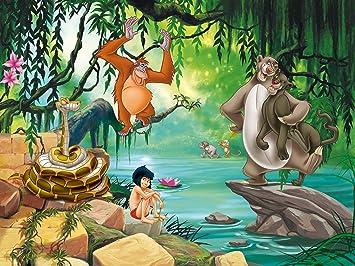 Ag Design Papier Peint Xxl Le Livre De La Jungle Disney 360x255 Cm