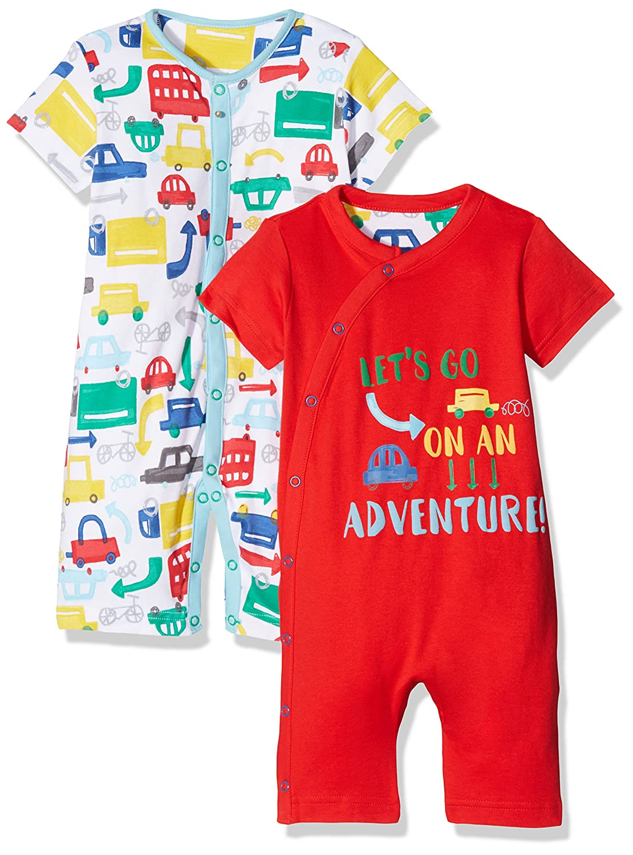 Mothercare Mono para Bebés Mothercare 2 Pack (Brights Multi 281) Recién Nacido PD262