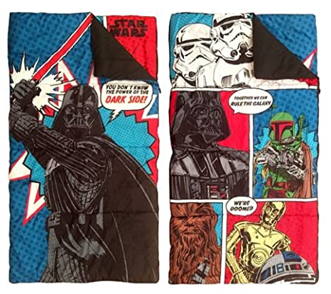 Disney Star Wars niños carácter saco de dormir y Sling saco