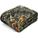 "Mainstays Plush Throw Blanket 50""x60"" Ozark Trails Camo"