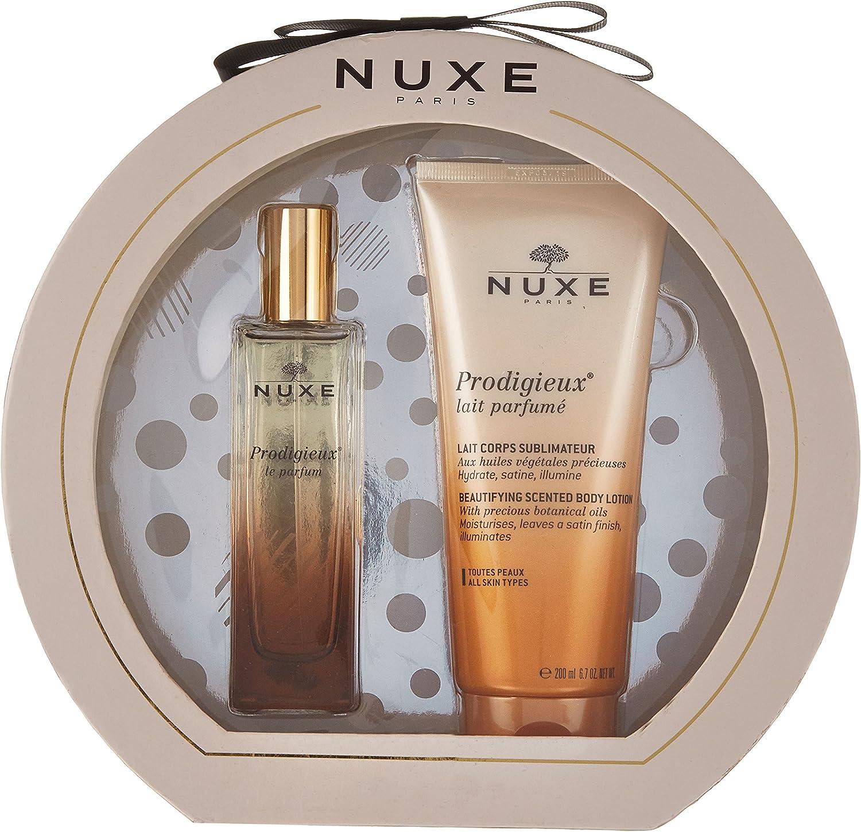 Nuxe PACK Prodigieux Le Parfum, 50ml+Leche Corporal Sublimadora Perfumada, 200ml: Amazon.es: Belleza
