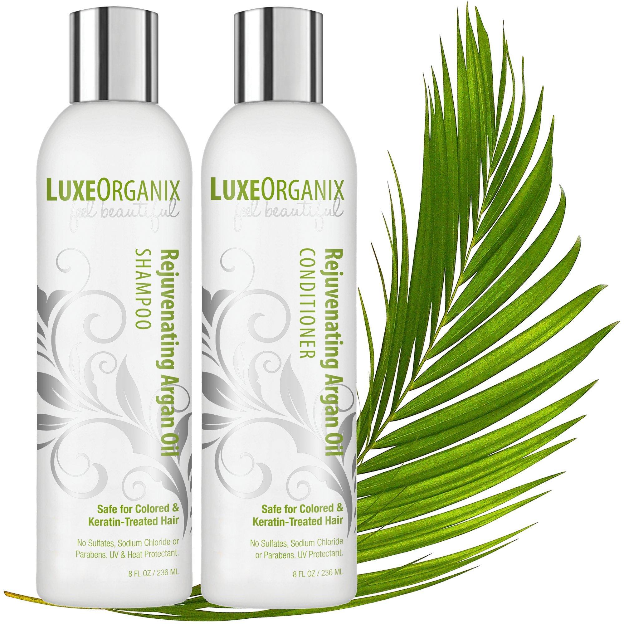 Amazon Moroccan Argan Oil Shampoo And Conditioner Sls Sulfate