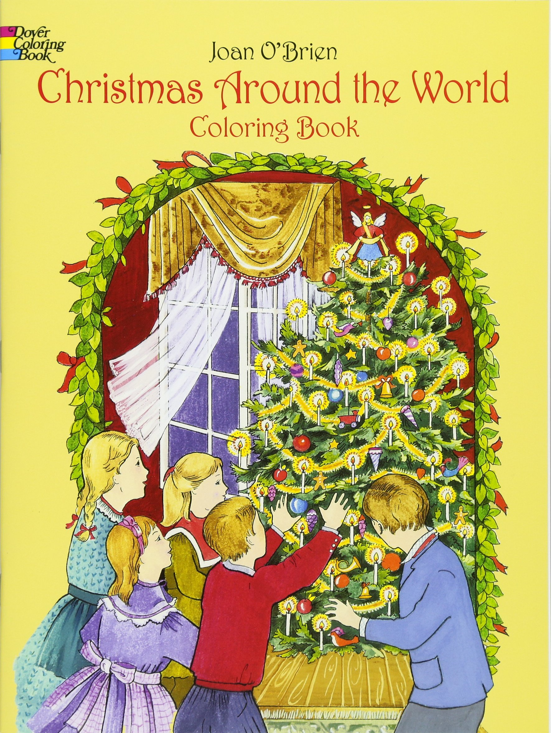 Christmas Around the World Coloring Book (Dover Holiday Coloring ...