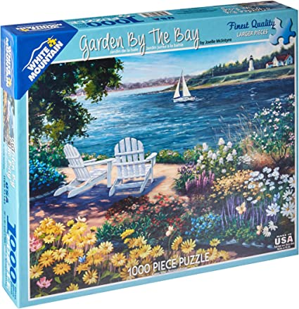 White Mountain Puzzles Garden By The Bay 1000 Jigsaw Puzzle