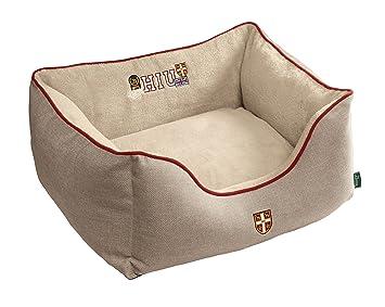 Hunter perro sofá Universidad, pequeños, 60 x 40 cm, marrón/marrón: Amazon.es: Productos para mascotas
