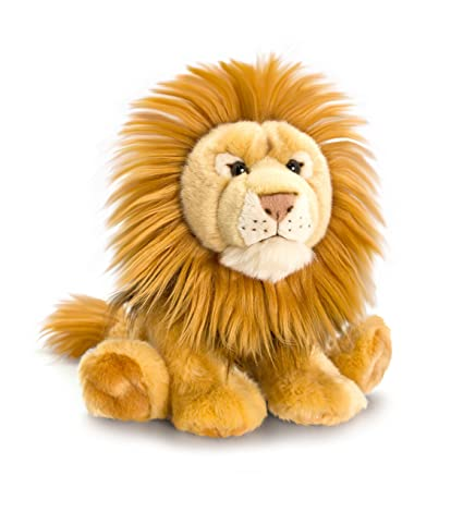 33cm Laying Lion Soft Plush Toy