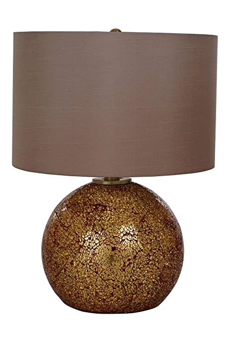 Catalina Lighting 20638 000 Maui Table Lamp With Light Brown Faux