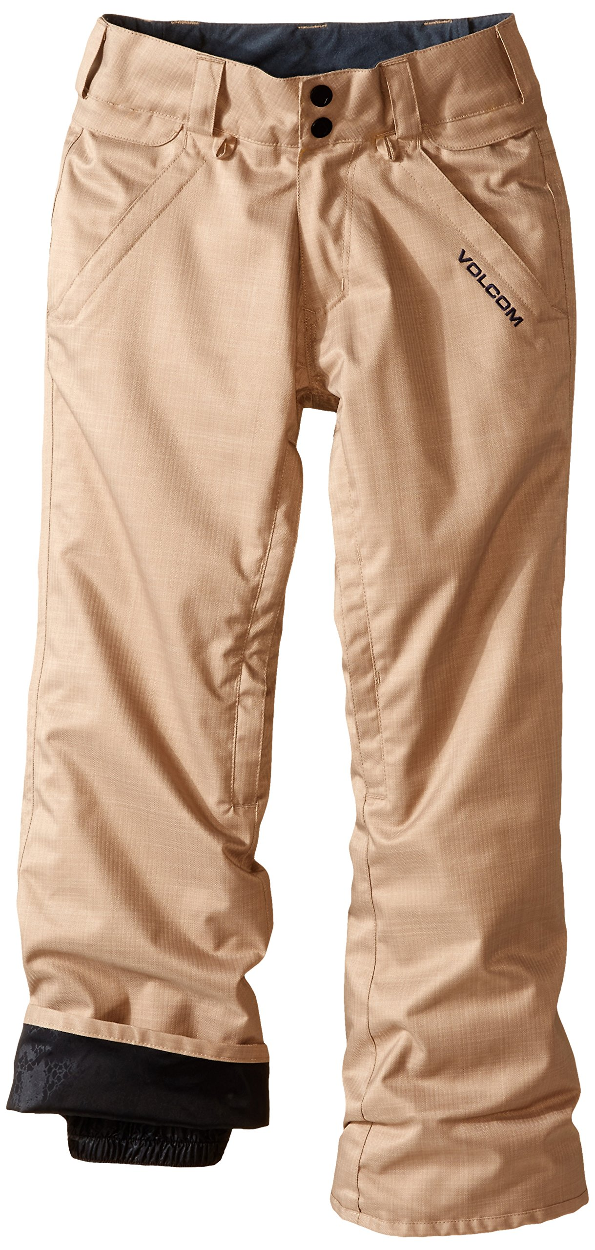Volcom Big Boys' Frickin Insulated Chino Pant, Khaki, X-Small