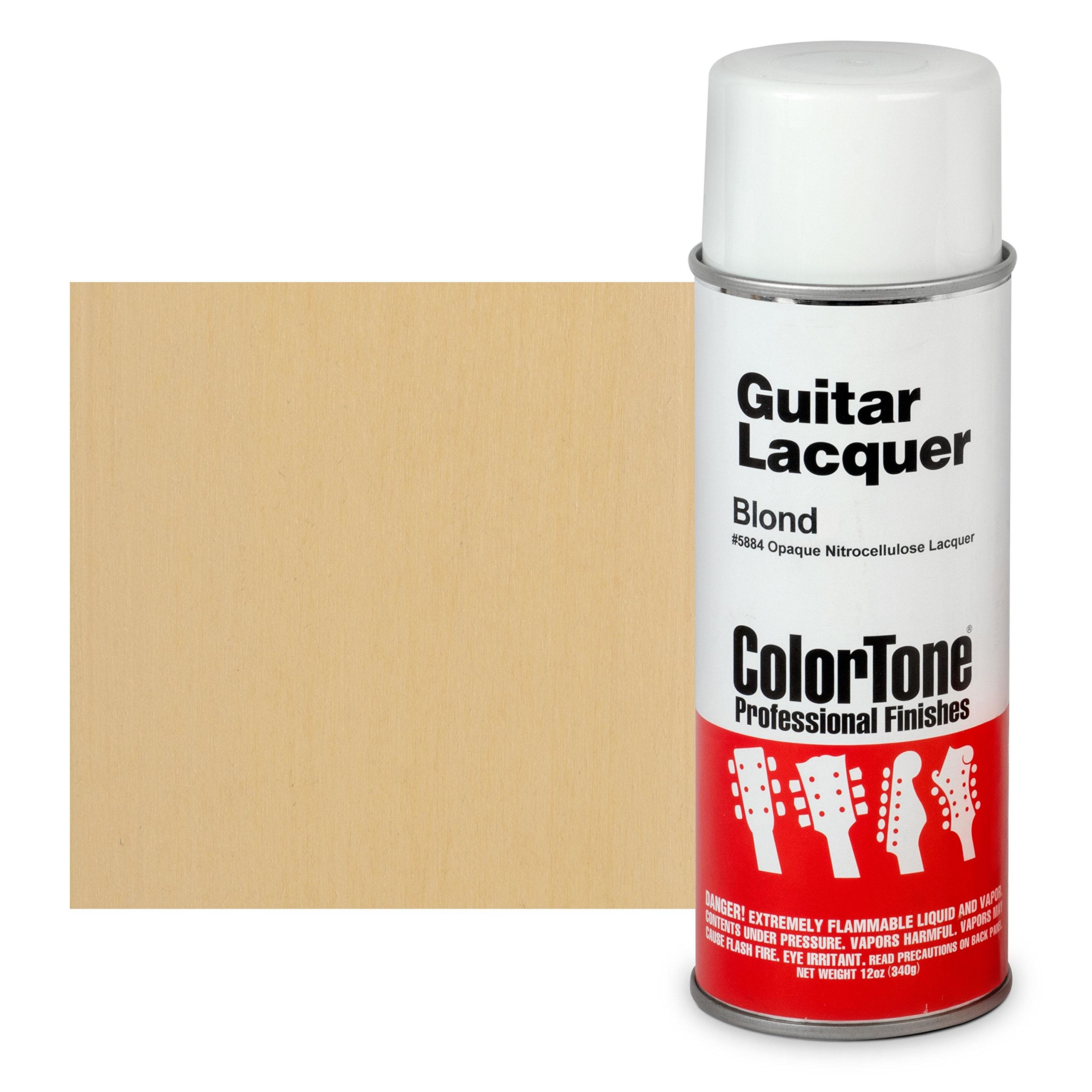 ColorTone 50s Classic Colors Aerosol Guitar Lacquer Sonic Blue