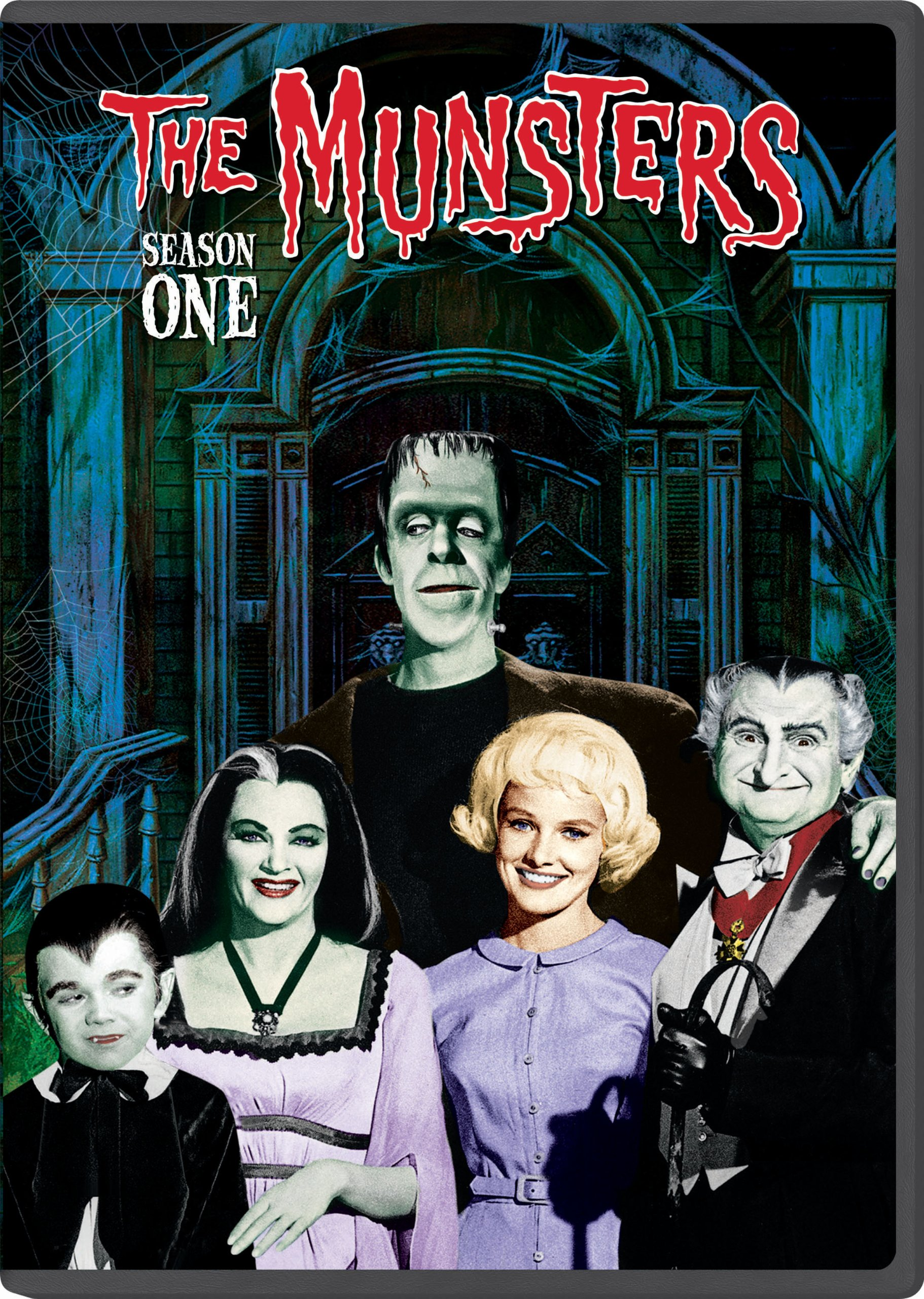DVD : The Munsters: The Complete First Season (Boxed Set, Full Frame, Snap Case, , Dolby)