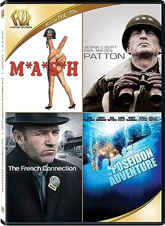 4c3ea30c94f Mash / Patton / The French Connection / The Poseidon Adventure Quad Feature
