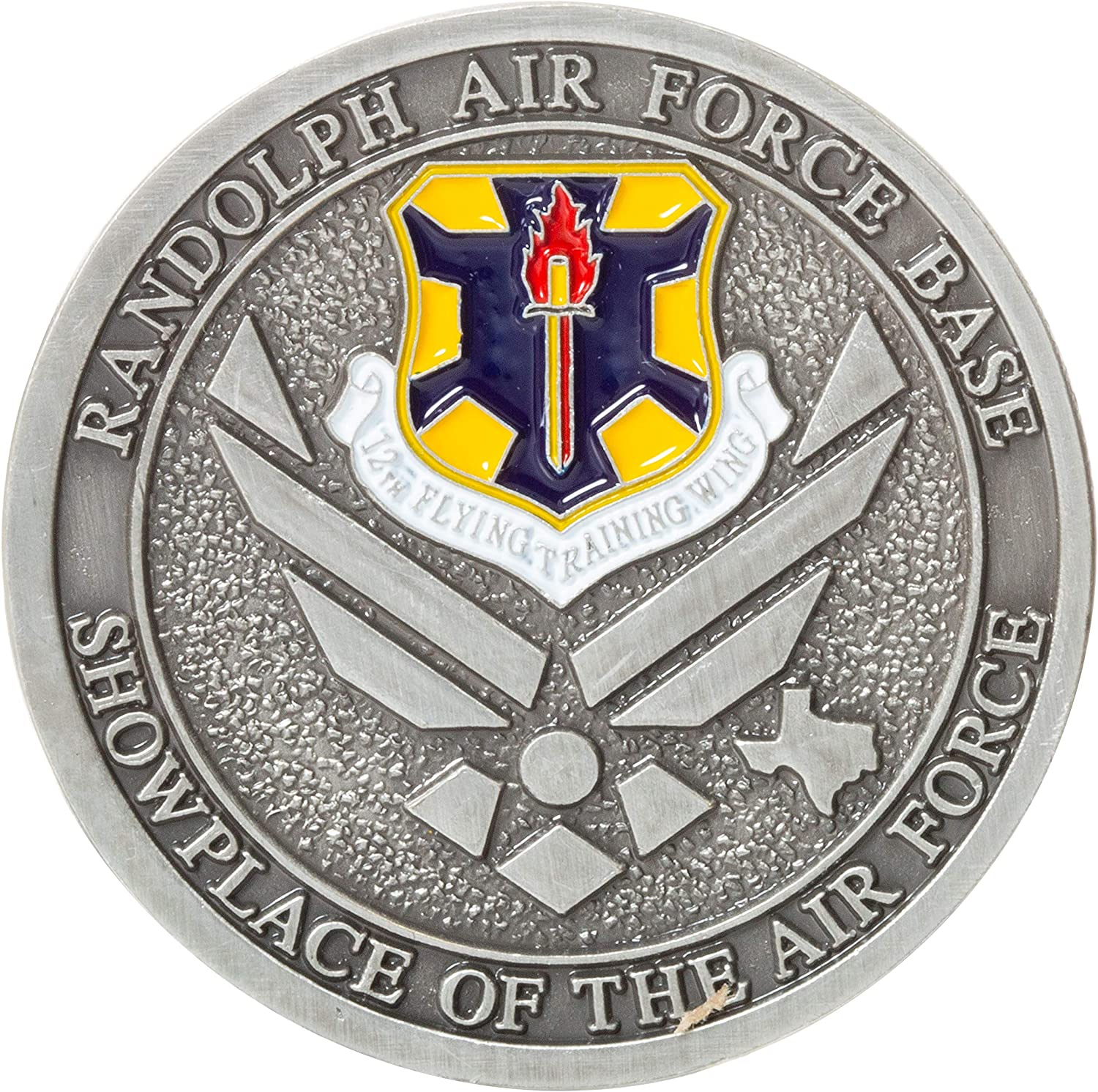 United States Air Force USAF Randolph Air Force Base AFG Showplace of The Air Force Challenge Coin