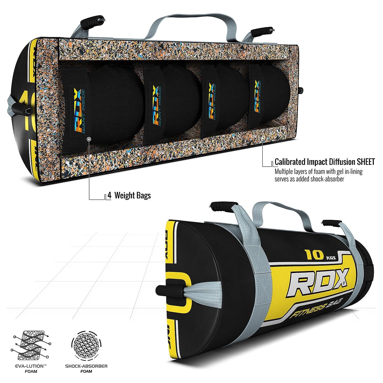 RDX Sandbag Fitness Workout Saco Peso Power Bag Ejercicio Pelota Gymnasia: Amazon.es: Deportes y aire libre