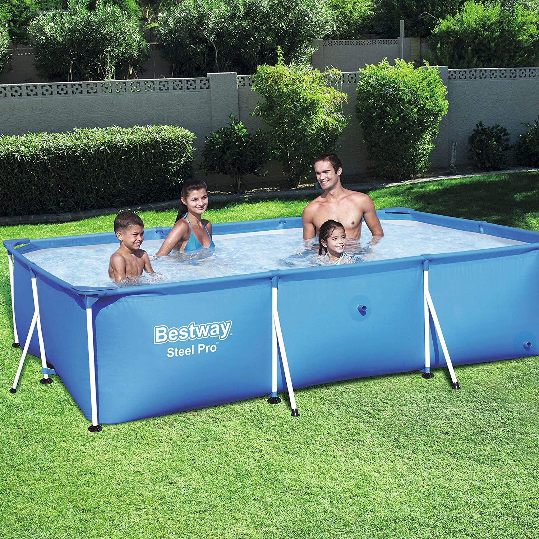 Bestway Pro Rectangular Steel Pool