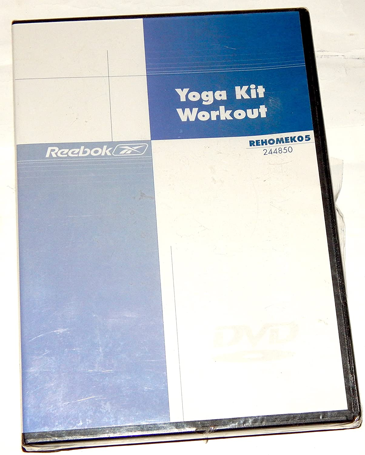 Amazon.com: Yoga Kit Workout by Reebok DVD REHOMEKO5 ...