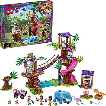 LEGO Pulse Theme Friends Base de Rescate en la Jungla Set con Clínica Veterinaria de Animales en la Casa del Árbol, Multicolor (41424): Amazon.es: Juguetes y juegos