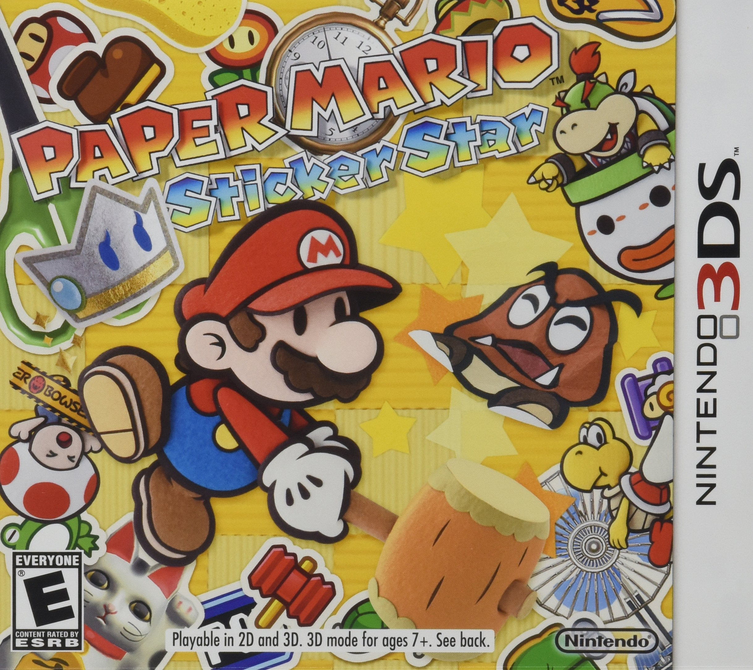 Paper Mario:  Sticker Star - 3DS [Digital Code]