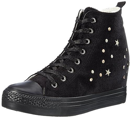 Fiorucci Feae019, Zapatillas Altas para Mujer: Amazon.es: Zapatos y complementos