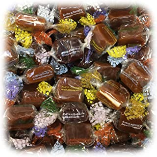 product image for AvenueSweets - Handcrafted Individually Wrapped Soft Caramels - 1 lb Box - Customize Your Flavors