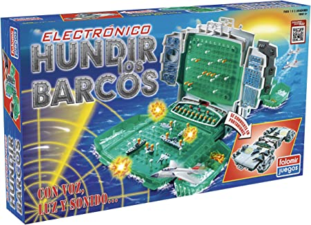 Falomir Hundir los Barcos Electrónico Mesa. Juego Clásico. (32-22004): Amazon.es: Juguetes y juegos