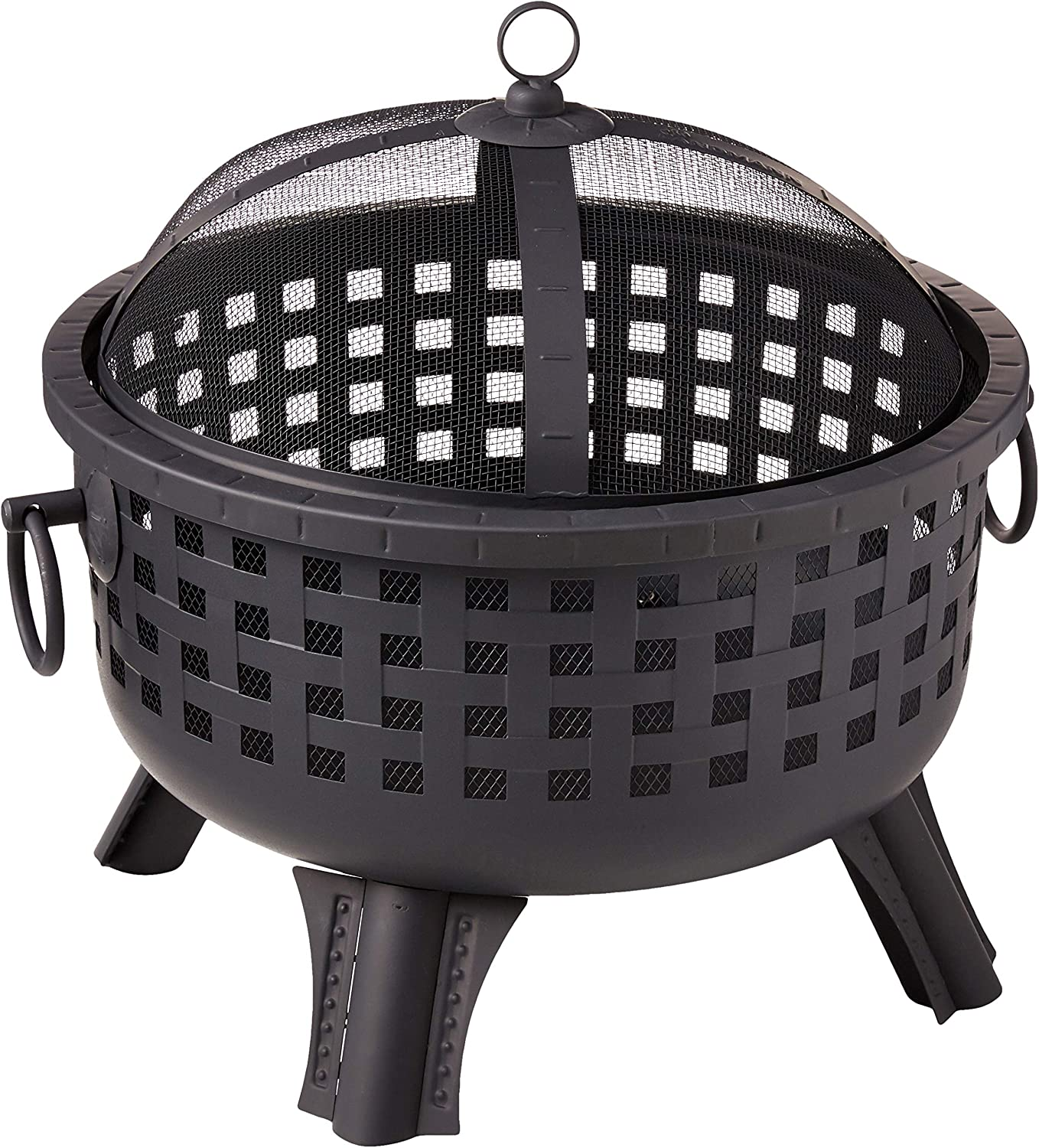 Landmann 26364 23-1 2-Inch Savannah Garden Light Fire Pit, Black