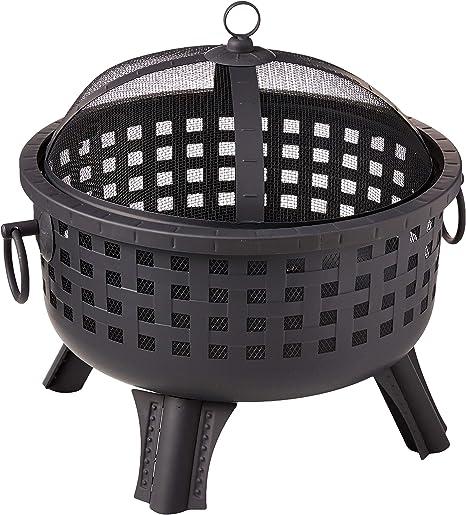 Amazon Com Landmann 26364 23 1 2 Inch Savannah Garden Light Fire Pit Black Firepit Garden Outdoor