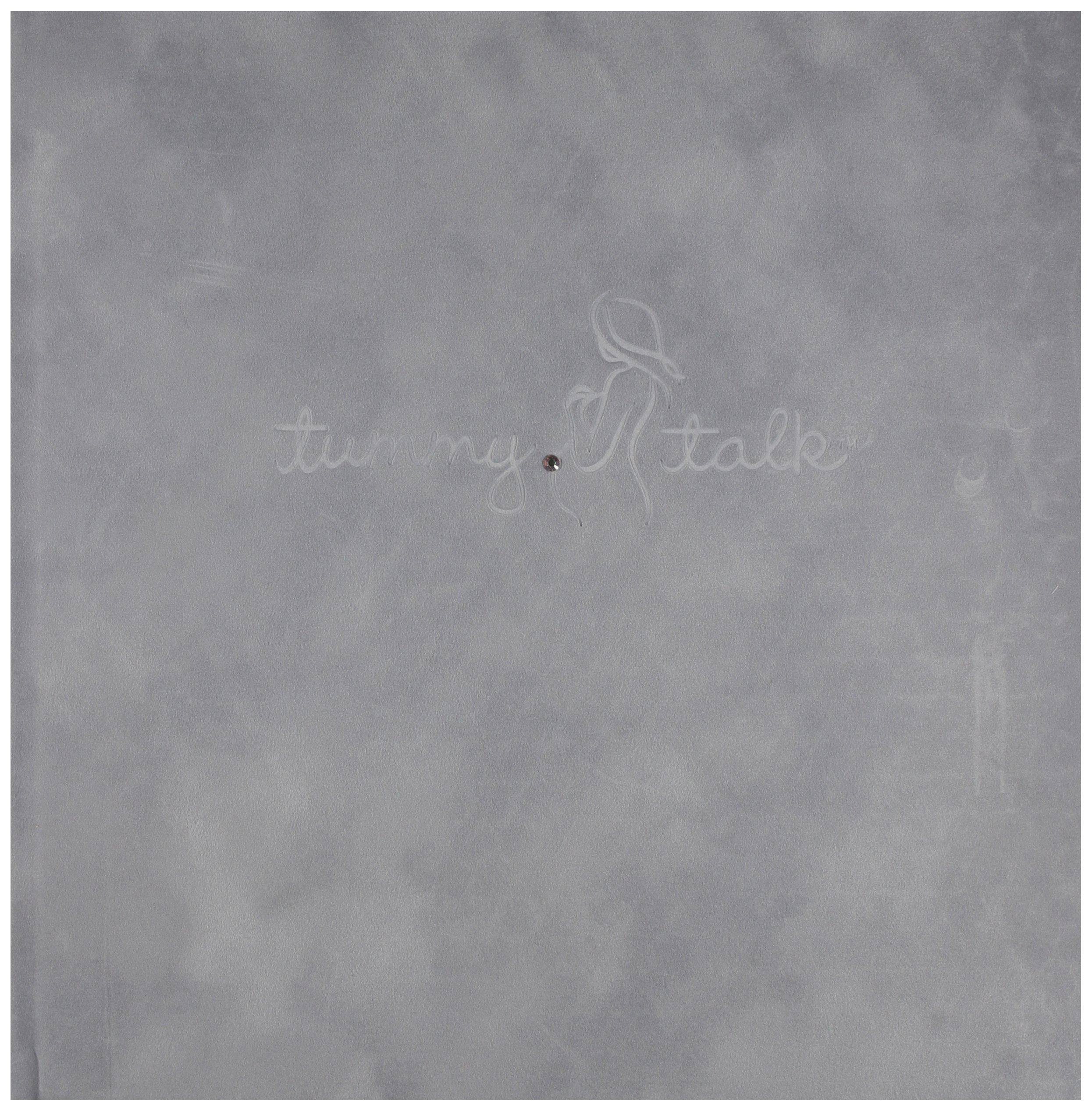Tummy Talk Pregnancy Journal Album, Gray