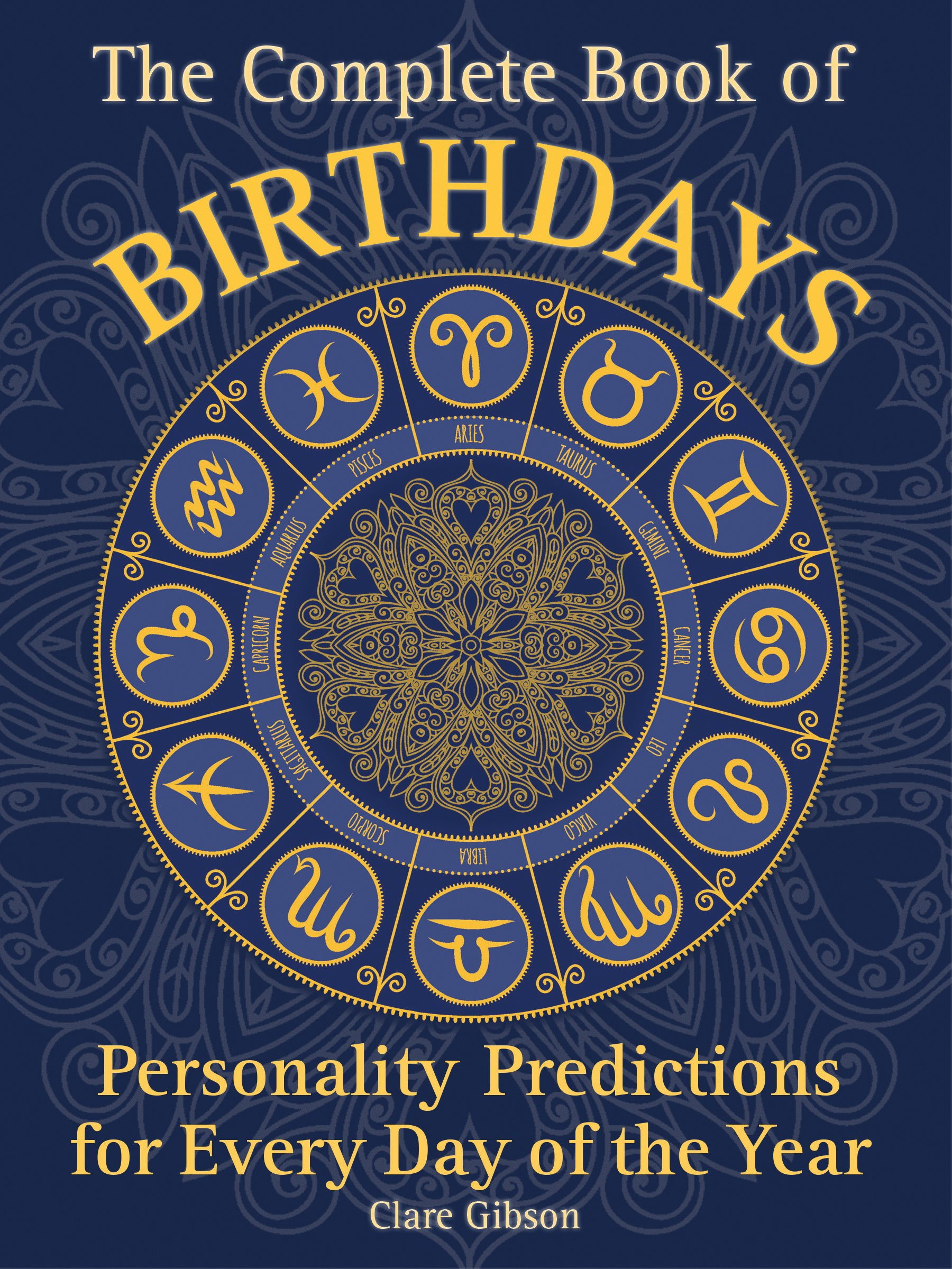 astrology birthday book personality