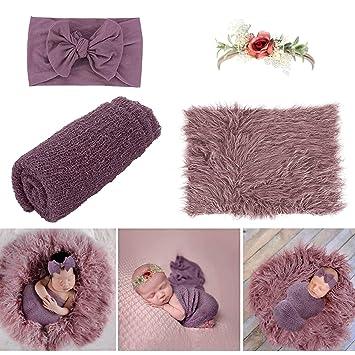 Purple Blanket Newborn Baby Blanket Choose Your Color Photo Prop Textured  Blanket