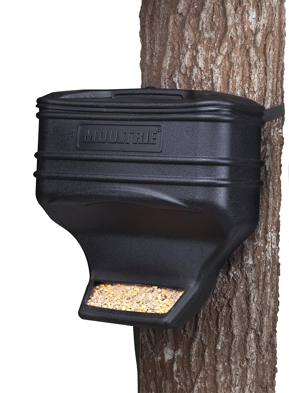 (2) estación de alimentación de Moultrie Alimentos Dispensador alimentador de gravedad Ciervo Kits | mfg-13104: Amazon.es: Deportes y aire libre