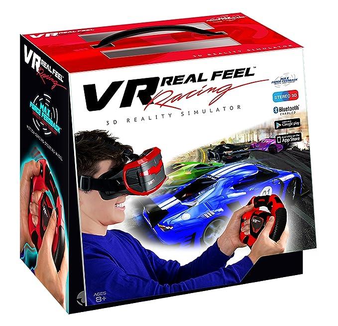 Amazon Com Vr Real Feel Virtual Reality Car Racing Gaming System