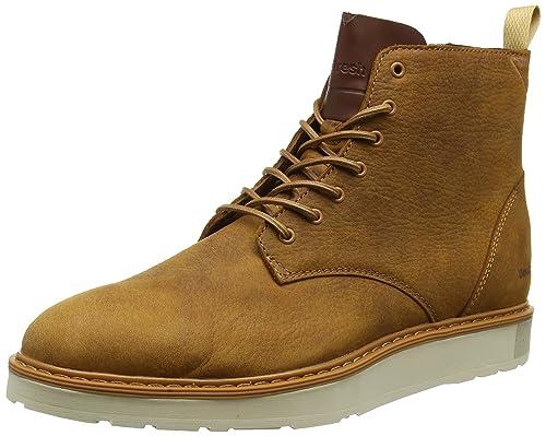 Boxfresh Garreis, Sneaker a Collo Alto Uomo, Marrone (Braun), 42 EU