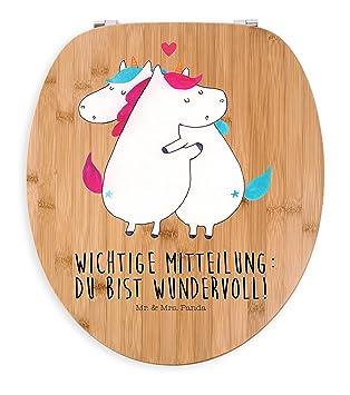 Mr Mr Mrs Panda Abattant De Wc Humoristique En Forme De